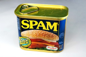 Spammy spam spam